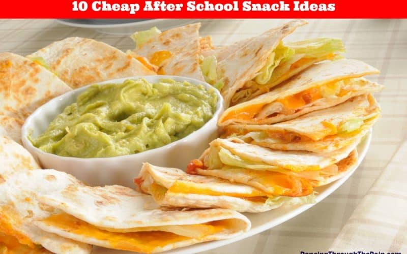 10 Cheap After School Snack Ideas