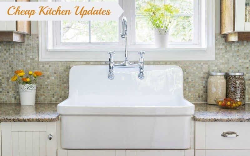5 Cheap Kitchen Updates