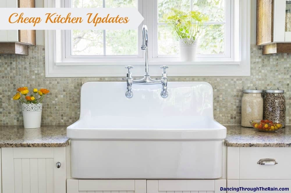 5 cheap kitchen updates for Update my kitchen on a budget