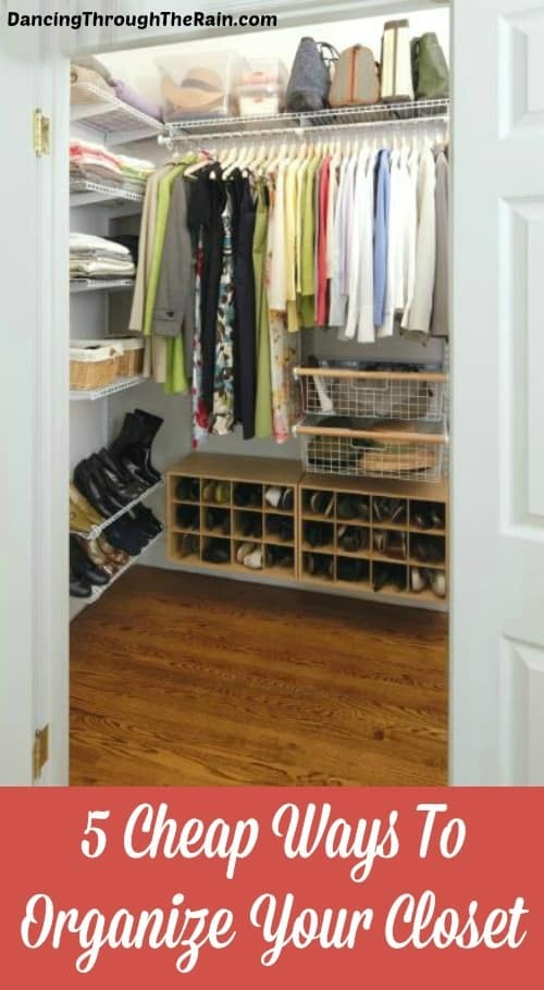 5 cheap ways to organize your closet for How do you organize your closet