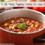 7 Ways To Pull Meals Together When You Have No Income