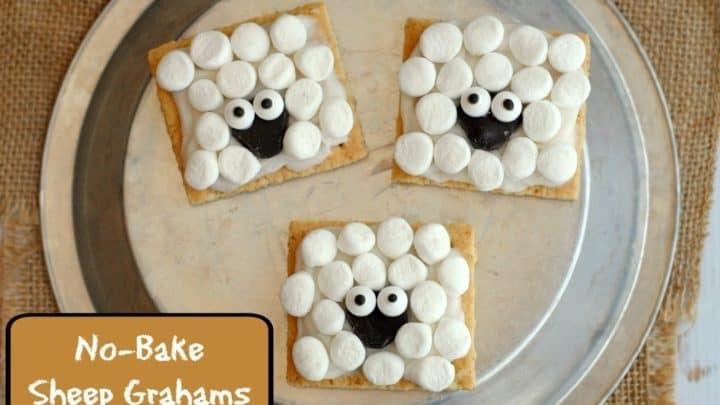 No-Bake Sheep Grahams