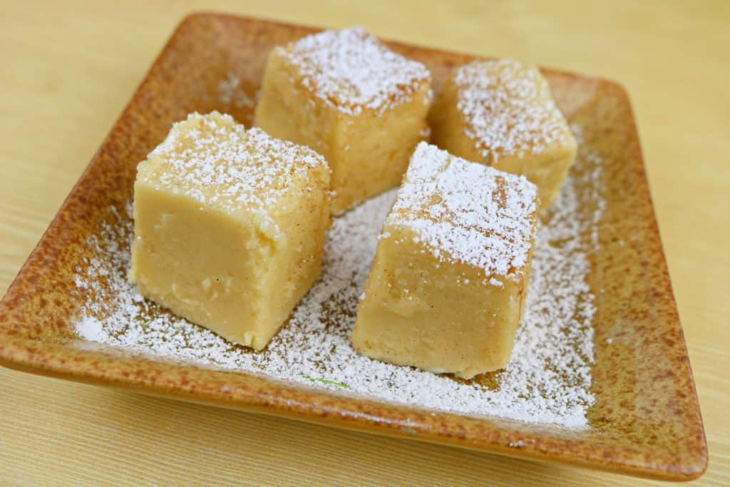 French Toast Fudge on a plate