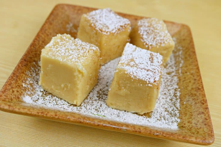 This is the best french toast recipe that you are going to find because it is actually dessert! This maple fudge is perfect for breakfast, lunch, and dinner. I know that you may never have through of a breakfast fudge, but it is a winner! Think of it as a dessert french toast! #fudge #dessert #maplefudge #breakfast #breakfastfudge #frenchtoast