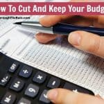Cost Cutting Ideas - How To Cut And Keep Your Budget