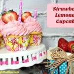 Strawberry Lemonade Cupcakes