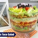 Layered Taco Salad Recipe With Fritos
