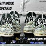 Darth Vader Cupcakes - May The Fourth Be With You