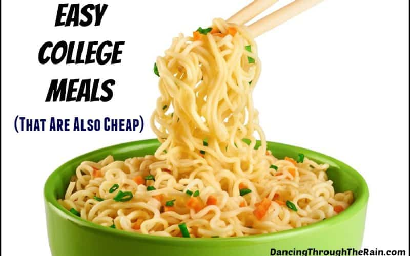 Easy College Meals (That Are Also Cheap)