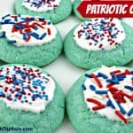 Red, White & Blue Patriotic Cookies