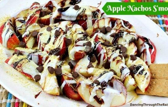 Apple Nachos S'mores
