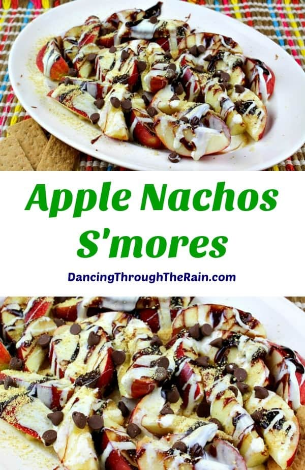 Apple Nachos S'mores