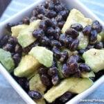 Easy Black Bean Avocado Salad