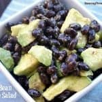 Black Bean Salad With Avocado