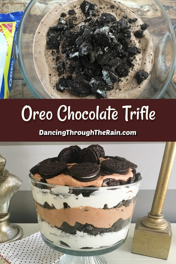 Oreo Chocolate Trifle