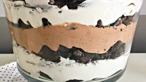 Oreo Cookies Chocolate Trifle