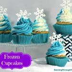 Frozen Cupcakes That Elsa Would Love