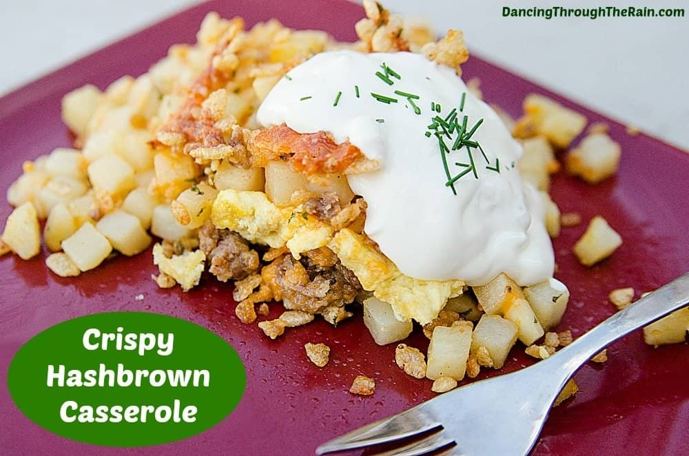 Hashbrown Casserole With Sausage, Egg, & Cheese