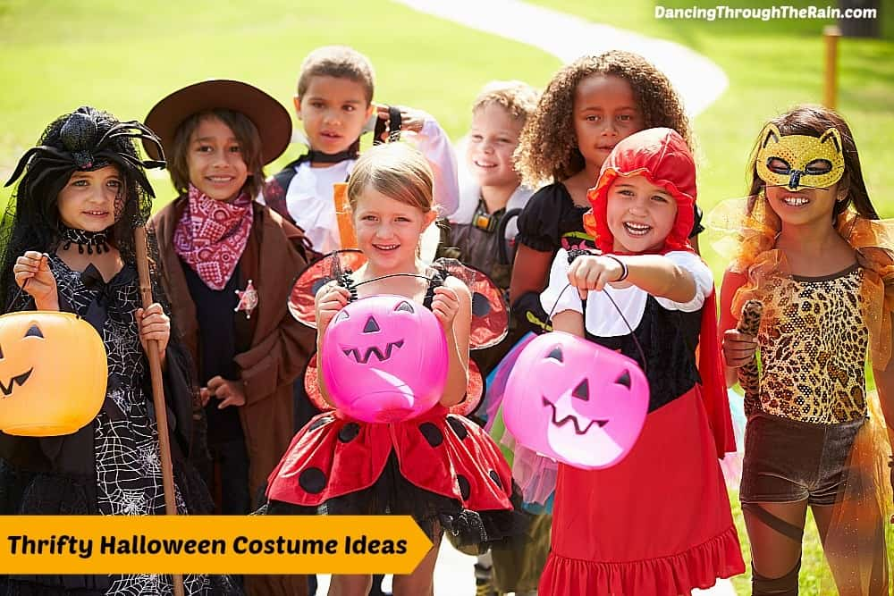 You donu0027t have to be a sewing expert or DIY maven to create your own excellent Halloween costume. Plus this is a great way to get kids involved in helping ...  sc 1 st  Dancing Through the Rain & Halloween Costume Ideas On A Budget