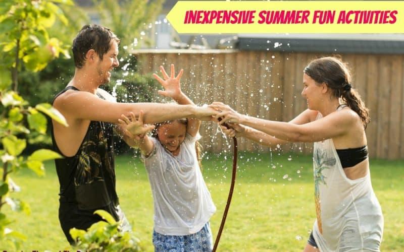 Inexpensive Summer Fun Activities