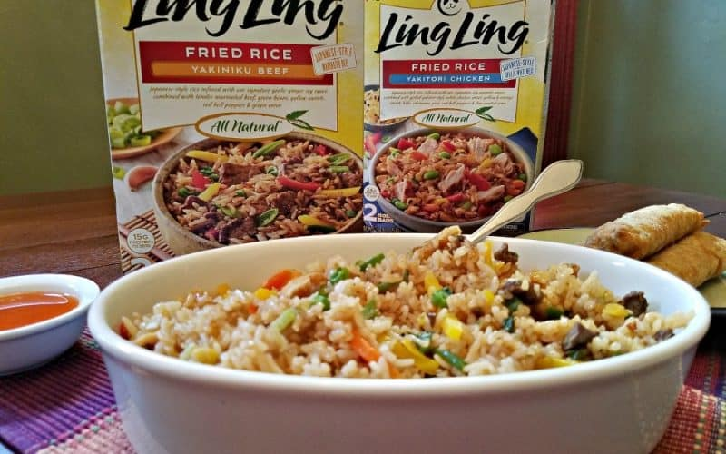 Ling Ling Fried Rice Review