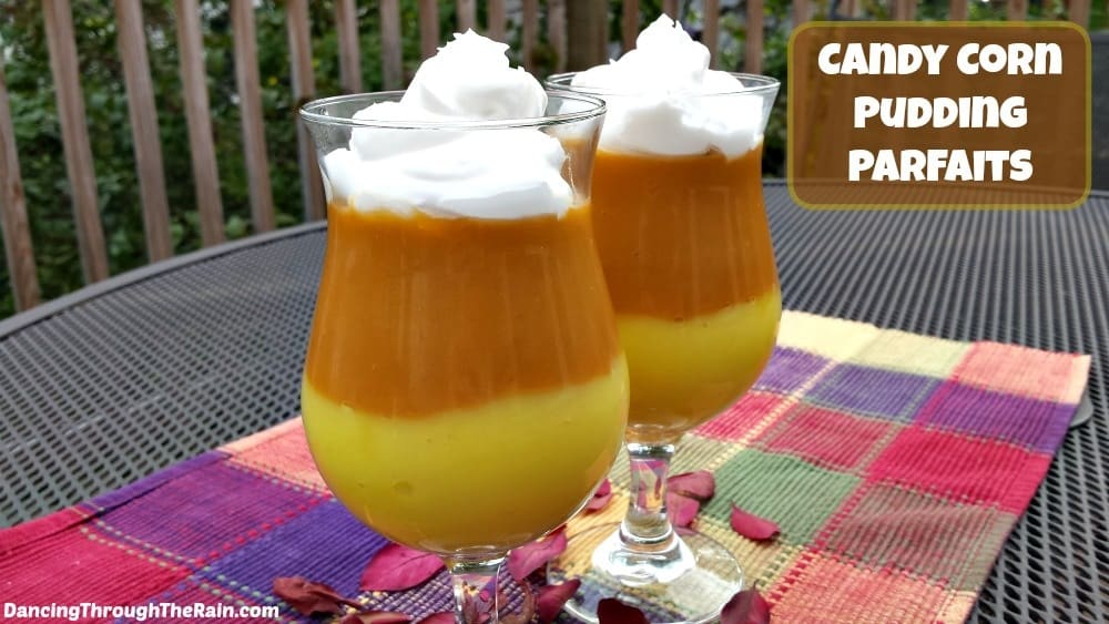 Candy Corn Pudding Parfaits