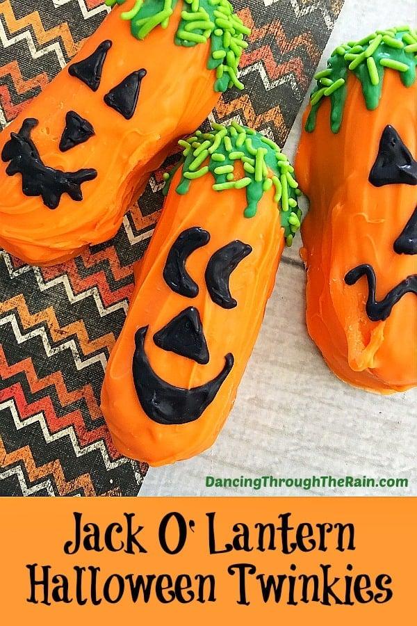 Jack O Lantern Halloween Twinkies