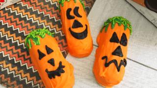 Halloween Jack O Lantern Twinkies