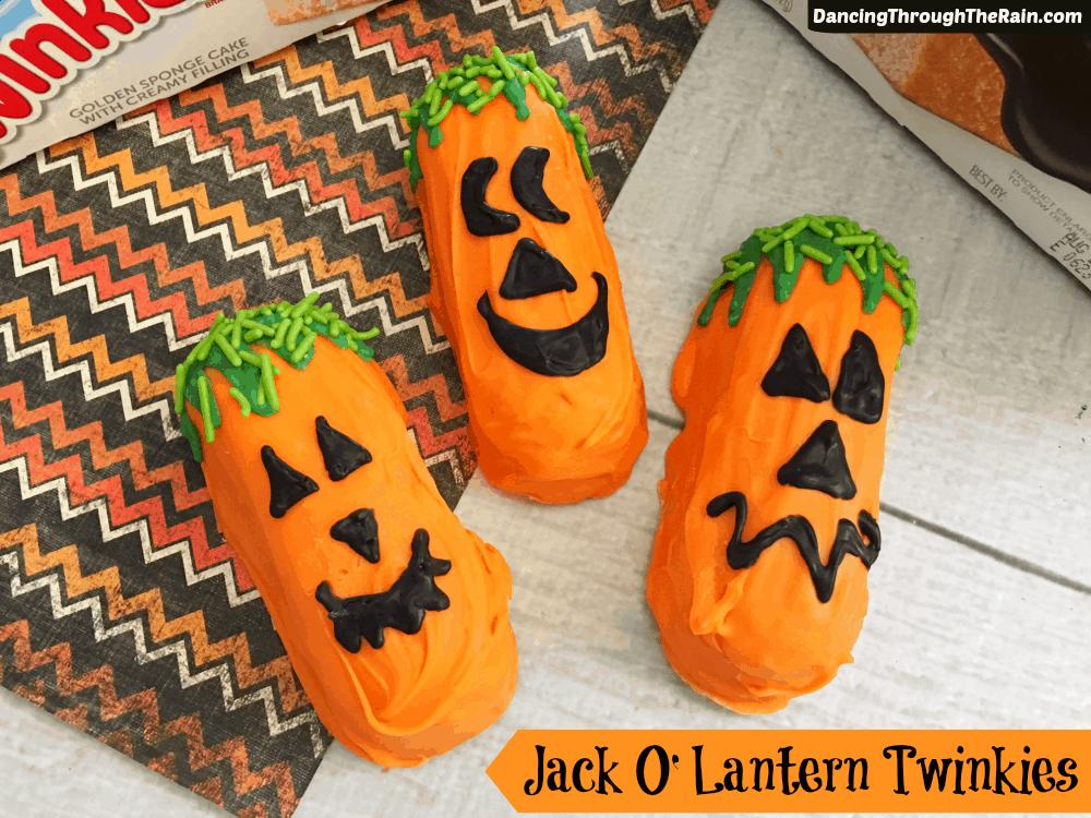 Jack O Lantern Twinkies