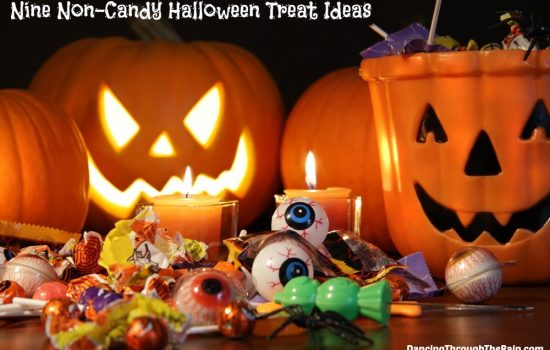 Nine Non-Candy Halloween Trick Or Treat Ideas