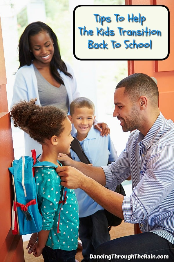Tips For Helping Kids Transition Back To School