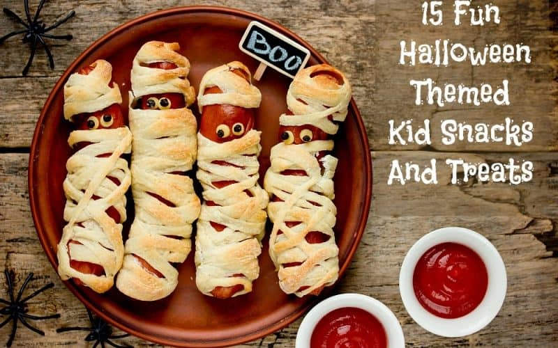 15 Fun Halloween-Themed Kid Snack And Treat Ideas