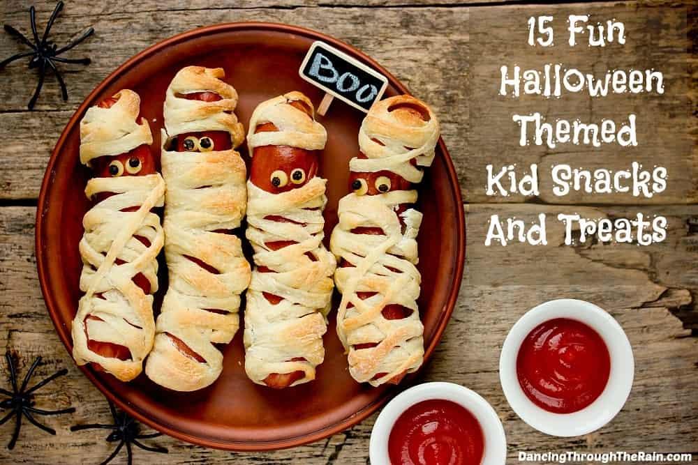 15 Fun Halloween Themed Kid Snacks And Treats