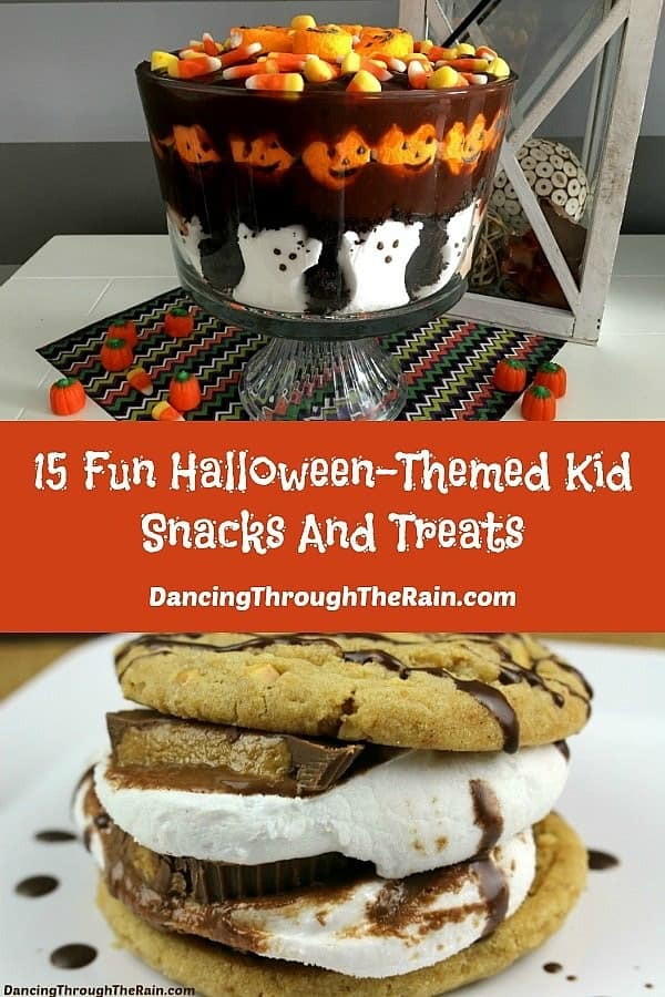 15 fun halloween themed kid snack and treat ideas for Fun halloween treats to make with toddlers