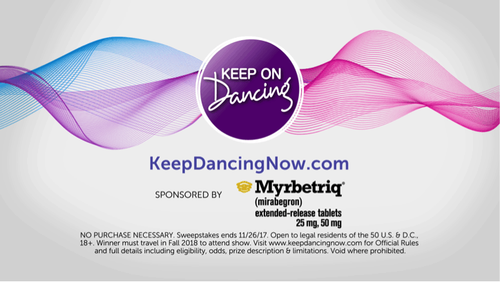 Feel The Passion And Keep On Dancing (Plus Sweepstakes!)