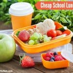 Cheap School Lunch Ideas
