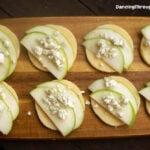 Polenta Bites With Apple And Gorgonzola