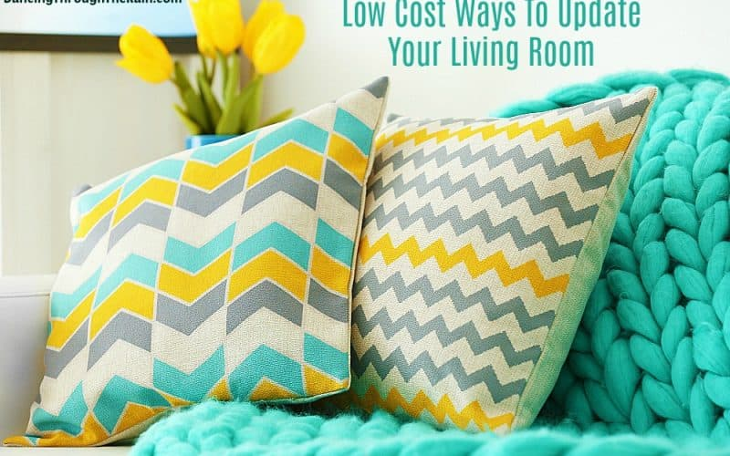Low Cost Ways To Update Your Living Room