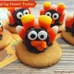 Thanksgiving Dessert Turkeys