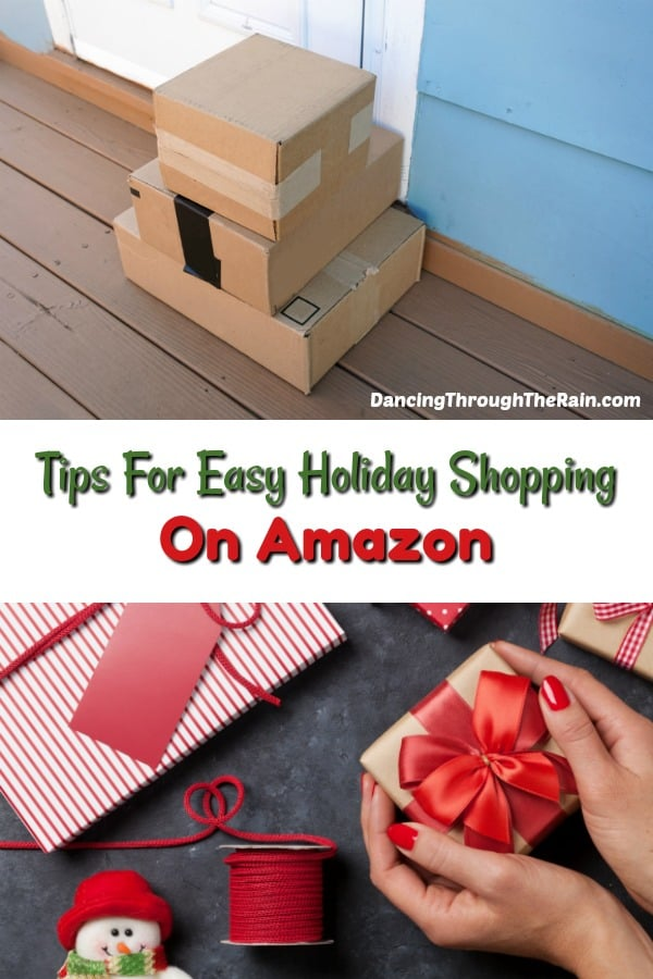 Tips for Easy Holiday Shopping on Amazon