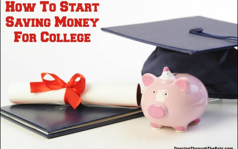 How To Start Saving Money For College