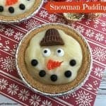 Mini Snowman Pudding Pies