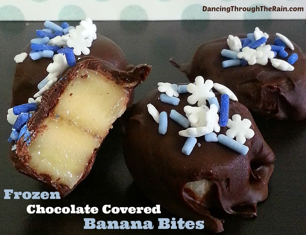 Frozen Chocolate Covered Bananas