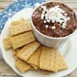 Hot Chocolate Cheesecake Dip