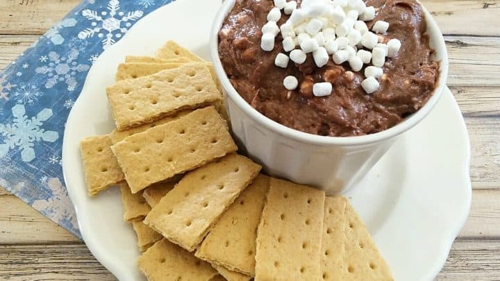 Hot Chocolate Cheesecake Dip