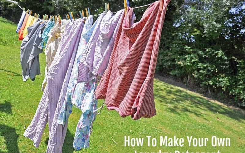 Homemade Laundry Detergent – How To Make Your Own