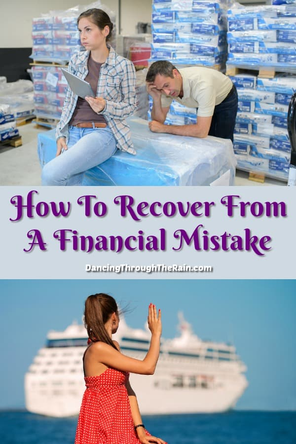 How To Recover From A Financial Mistake