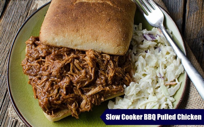 Slow Cooker Pulled Chicken