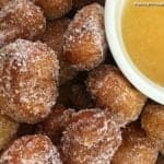 Fried Cinnamon Roll Bites