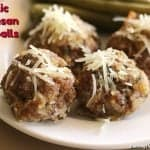 Parmesan Meatballs With Garlic